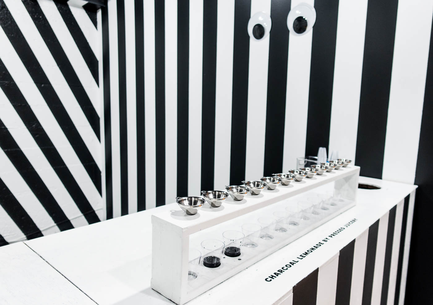 Color Factory - Black & White Laboratory - Charcoal Lemonade | The Chic Diary