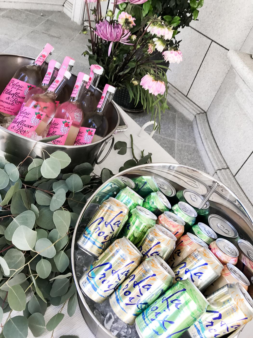 100% Pure Garden Beauty Brunch Belvoir & La Croix   The Chic Diary