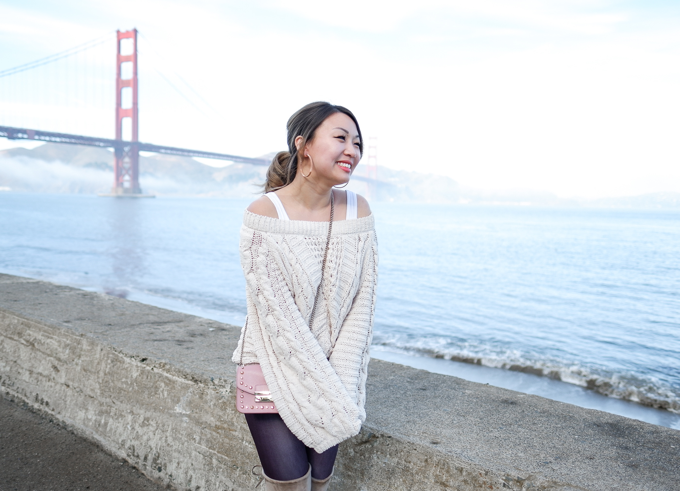 Express Balloon Sleeve Sweater | The Chic Diary
