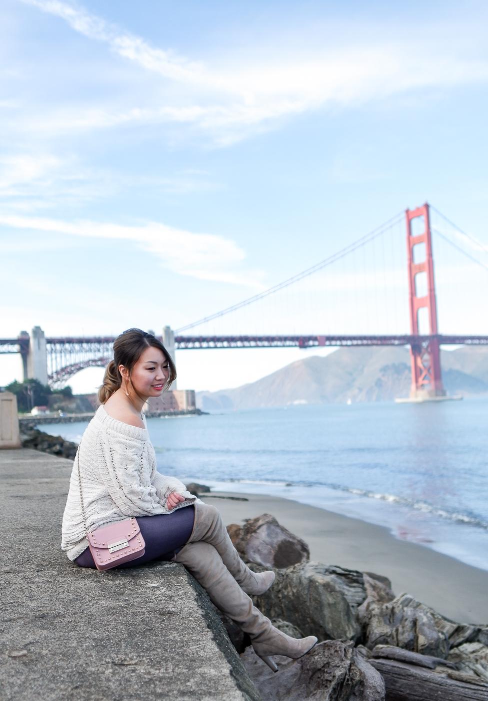 SF Golden Gate Bridge | The Chic Diary