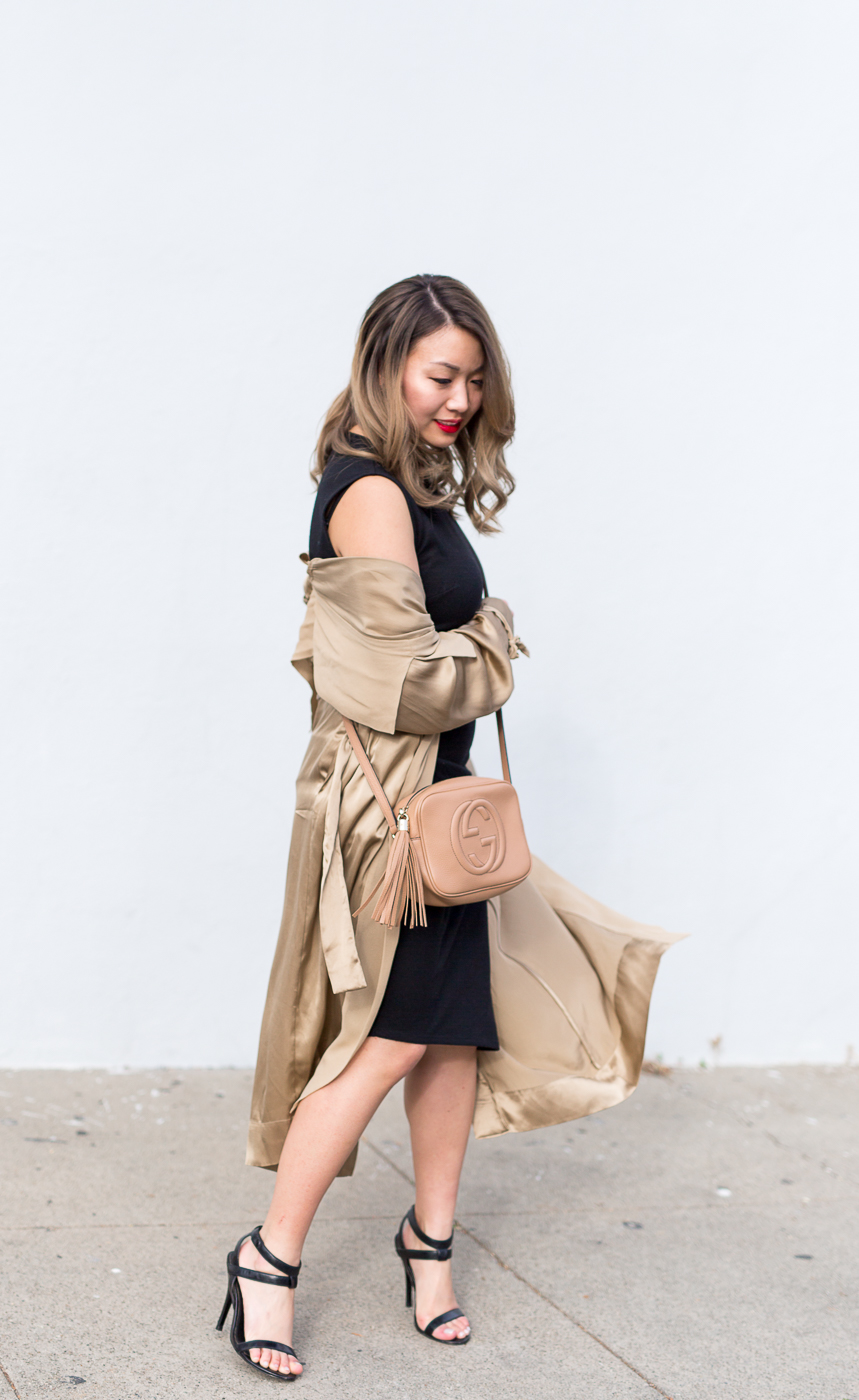 Aritzia Wilfred Duster Jacket | The Chic Diary