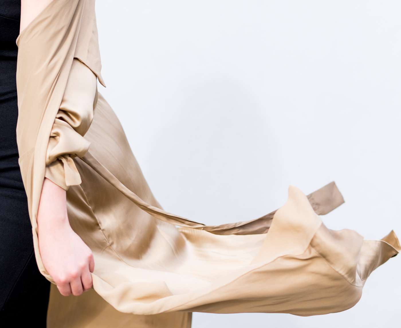Aritzia Le Fou Wilfred Mercier Jacket - Gold | The Chic Diary
