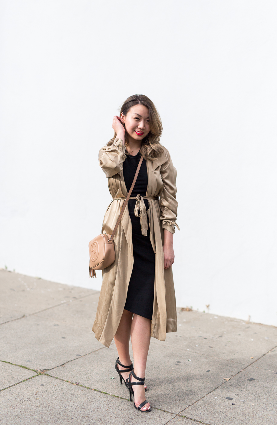 Aritzia Le Fou Wilfred Mercier Jacket & The Group By Babaton Notley Dress | The Chic Diary