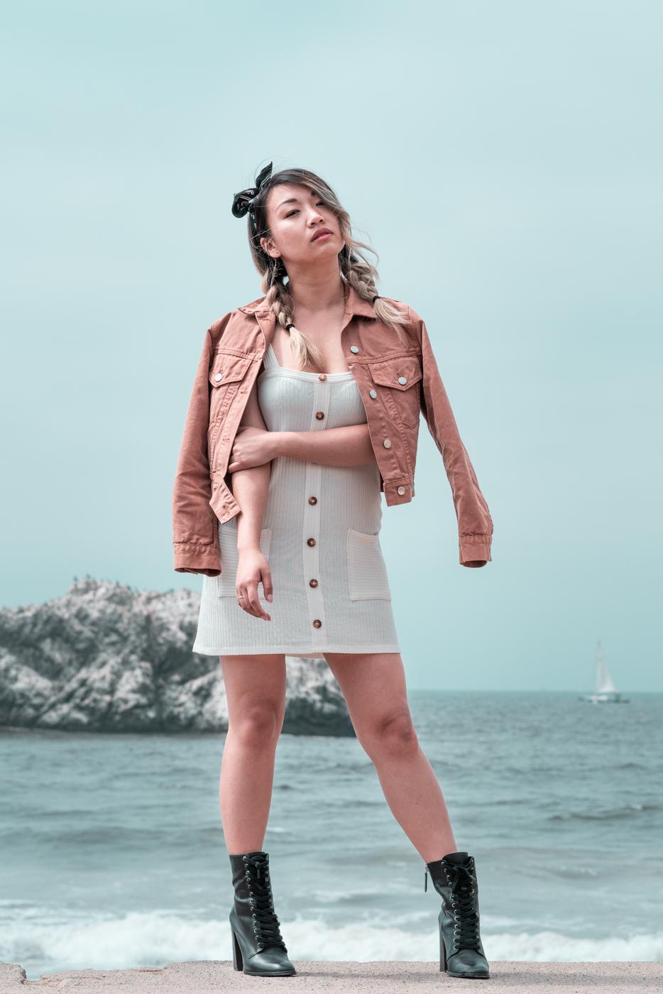 Reformation Dress & Schutz Makayla Booties   The Chic Diary
