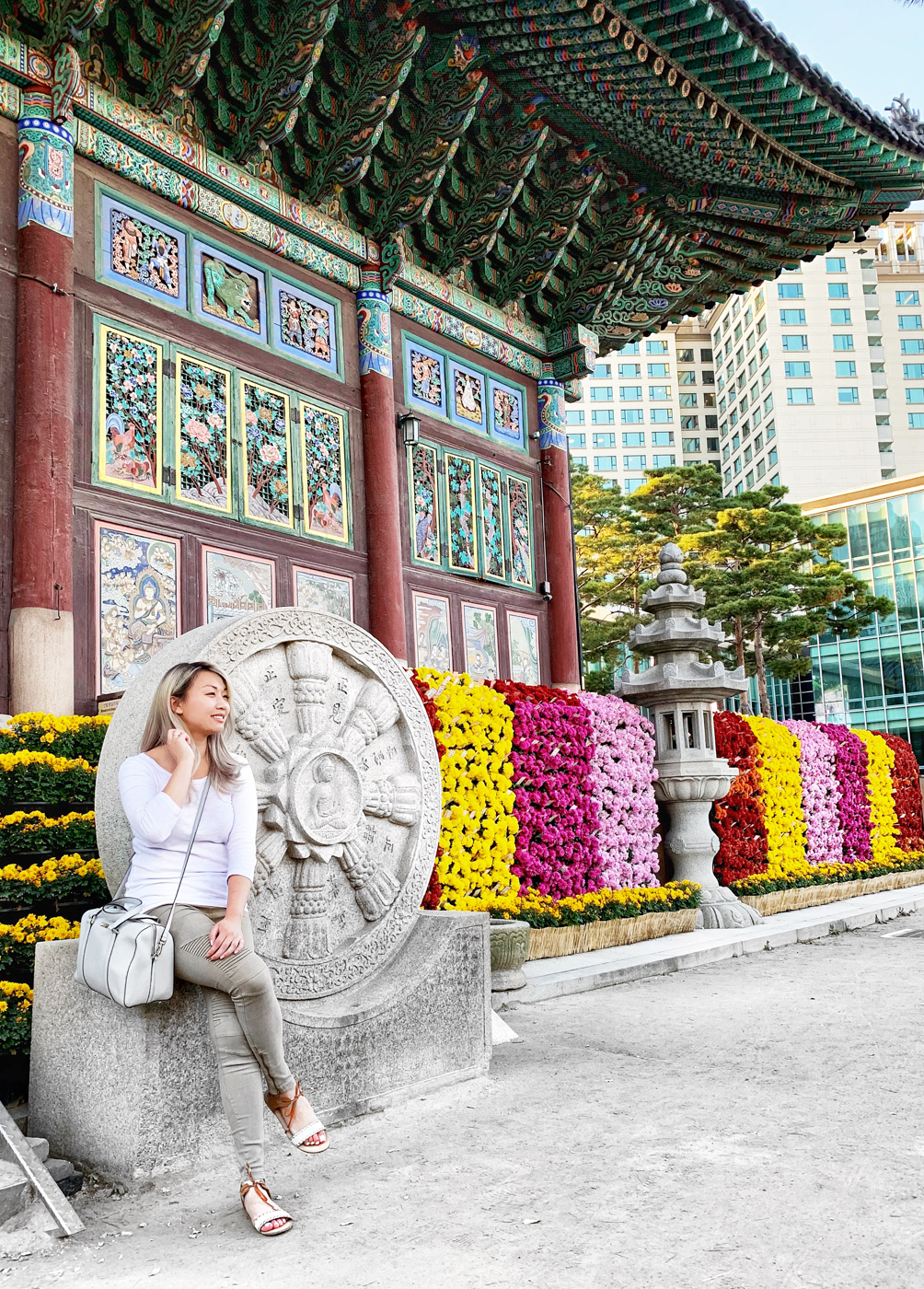 """Autumn Chrysanthemum Festival at Jogyesa Temple 