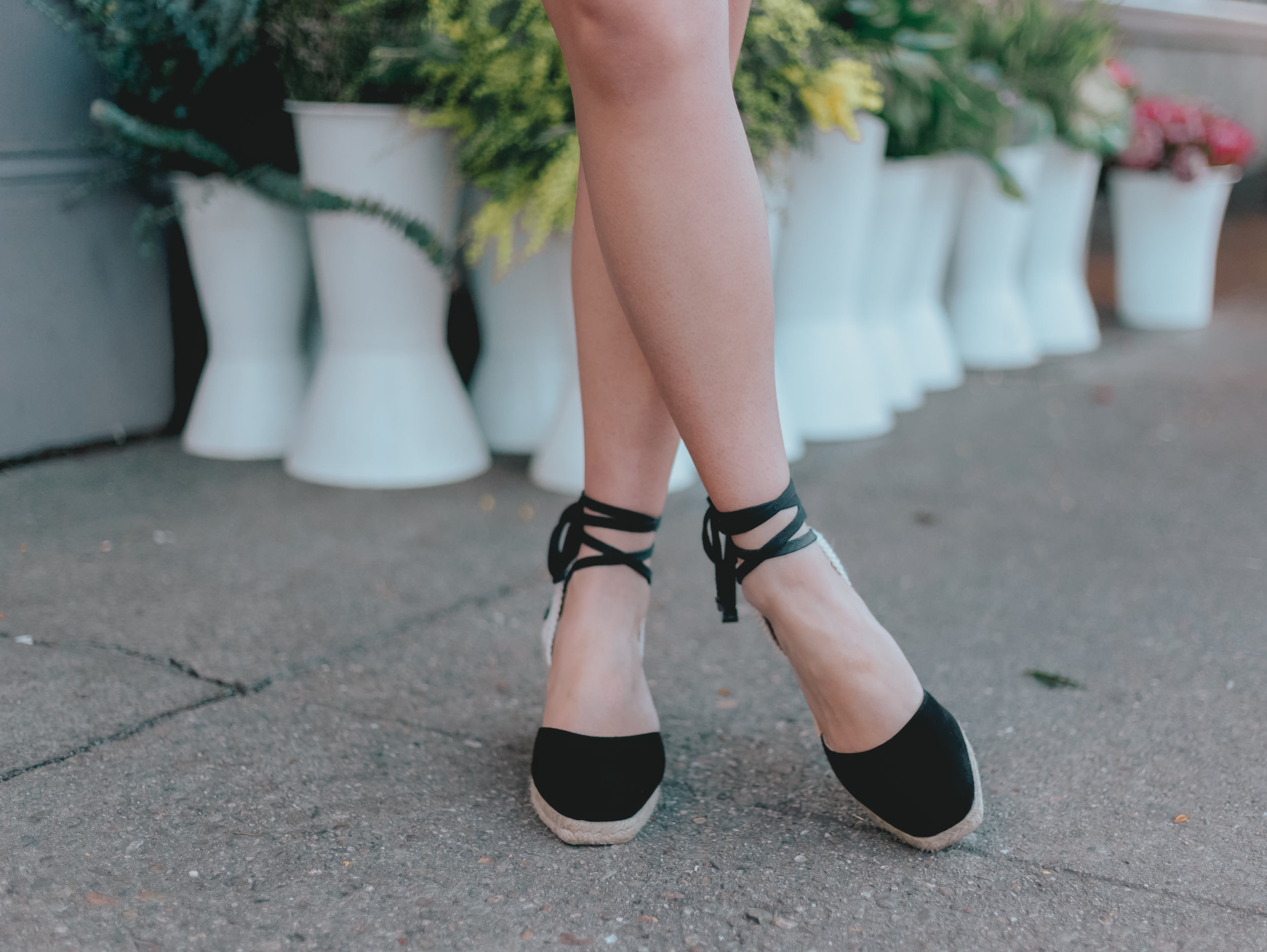 Reformation Romy Wedge Espadrille | The Chic Diary