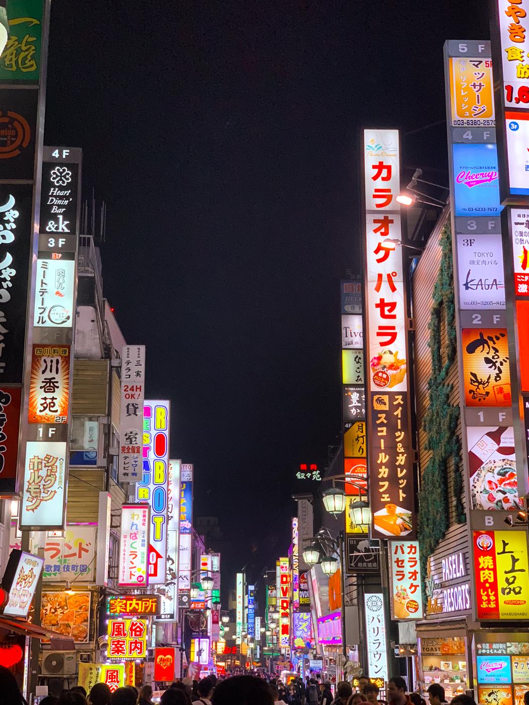 Shinjuku District | Tokyo, Japan