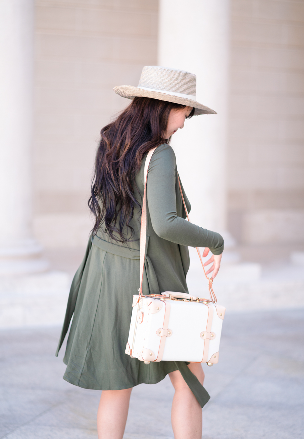 Sustianable Fashion | La Fille Colette Portmanteau Jacket | The Chic Diary