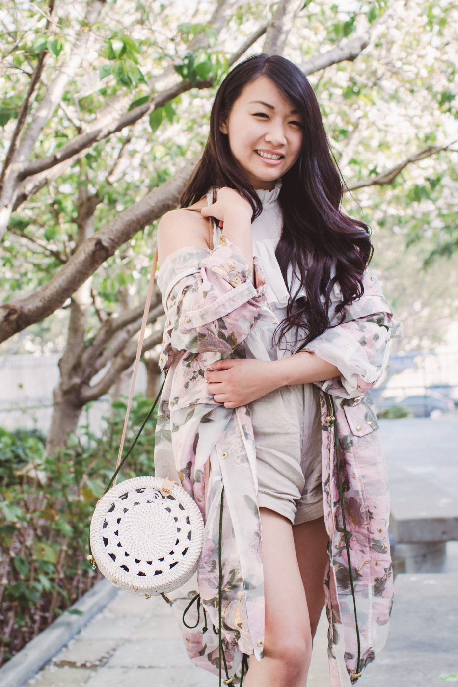 We Are Kindred Anorak - Organza Rose | The Chic Diary