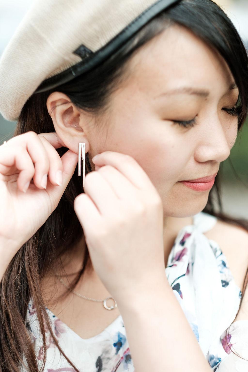 Tribar Ear Jacket | The Chic Diary