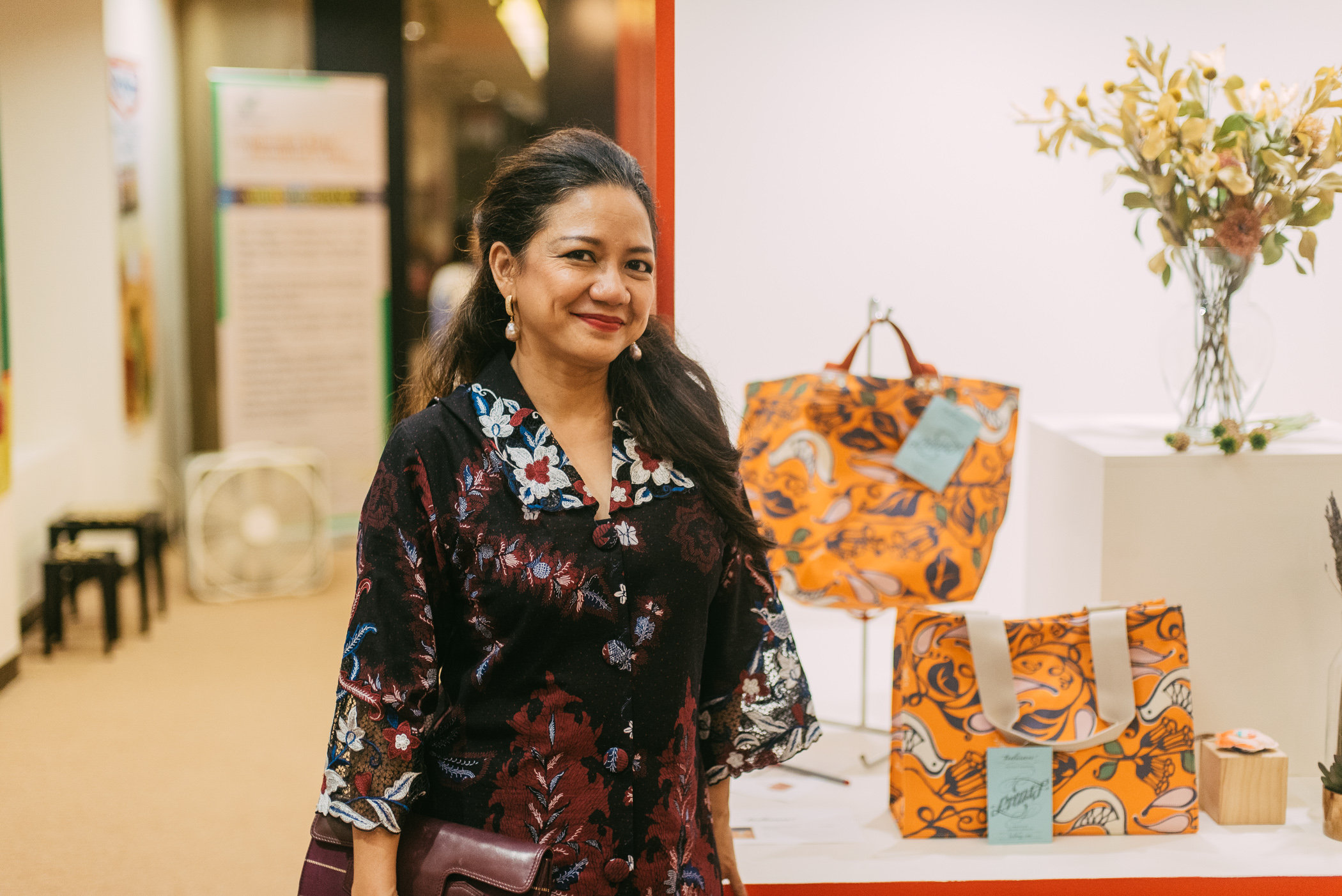Thank you for your endless support, the beautiful and elegant Mrs. Nila Umar Hadi, the President of ASEAN Women Circle of Los Angeles.