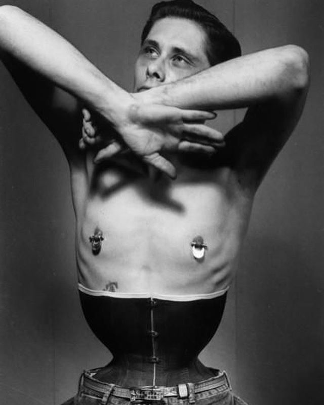 remembering #fakirmusafar, a body play enthusiast who pioneered modern primitivism ⛓🏹📸 check out his legacy on sawyermagazine.com now! #bodyplay #photography #magazine #photoshoot