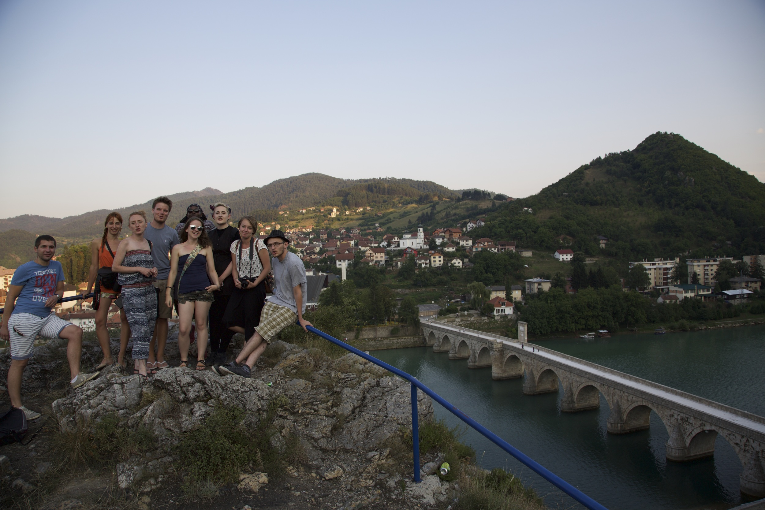 Some of the participants and organising team of TCFT's Visegrad chapter in 2015 (taken by Julia Brown, TCFT 2015 participant)