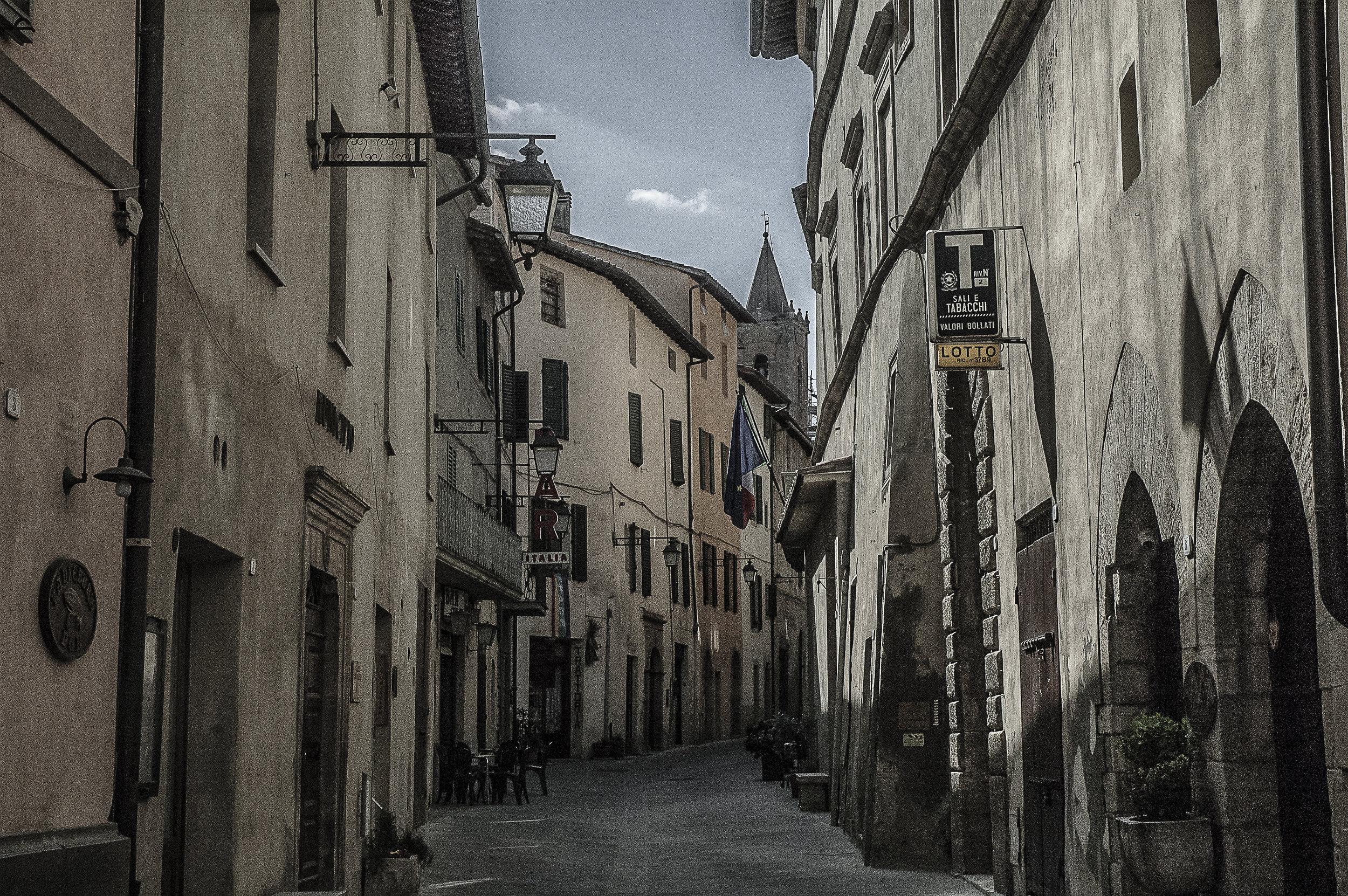 Sarteano Street