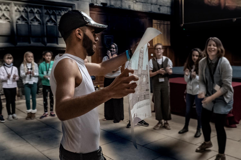 Salah showing painting .jpg