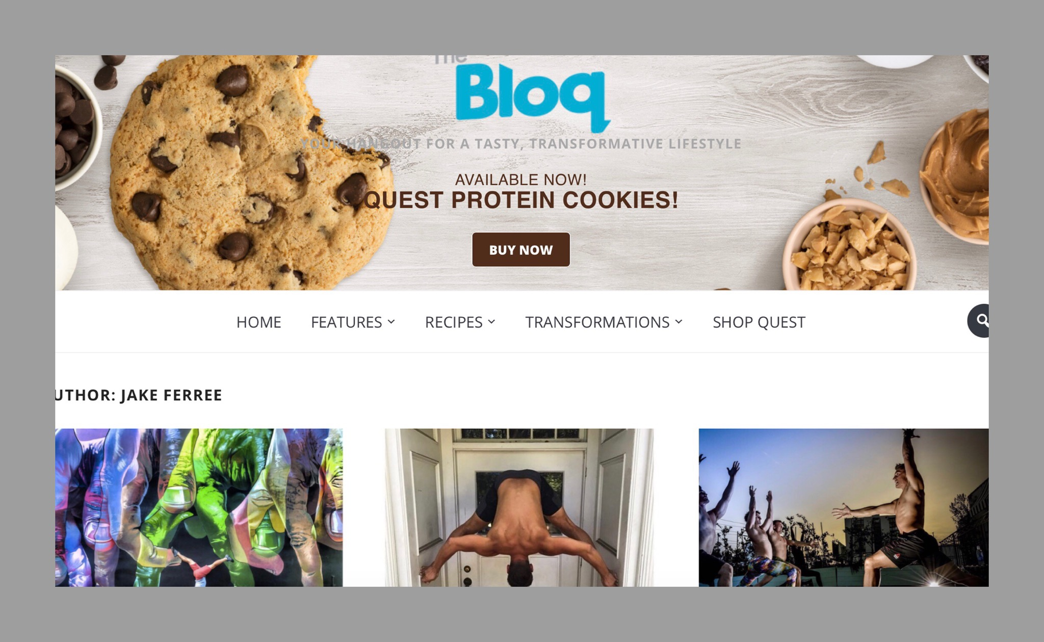 QUEST NUTRITION BLOG CREATOR