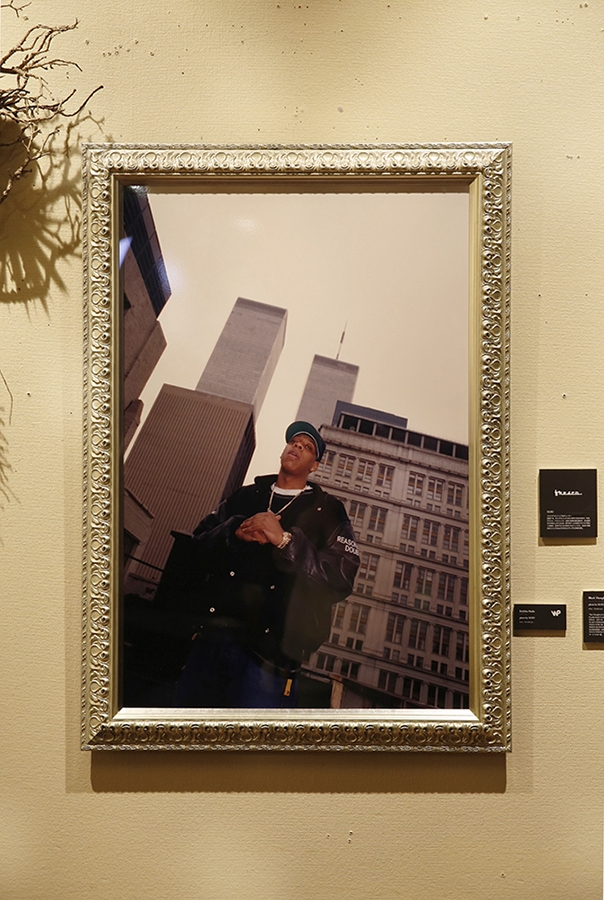 The Legends of New York  Group Exhibition  byWax Poetics Japan  @ Nos Shibuya  3/30-5/13/2015  Jay-Z Photo