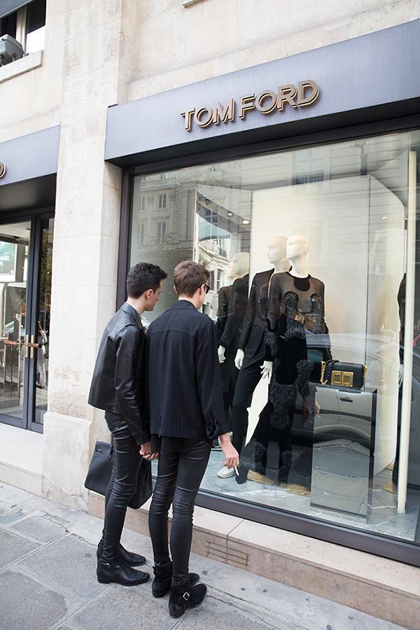 Tom Ford in Paris