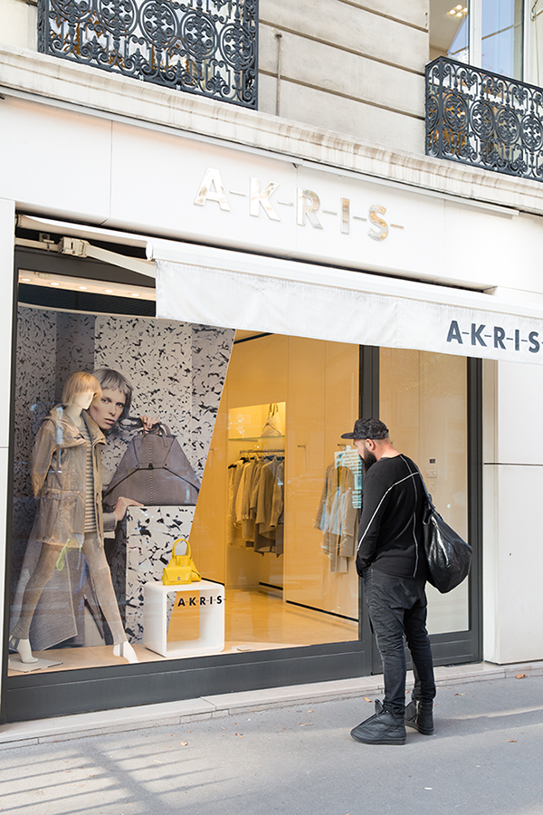 Akris in Paris