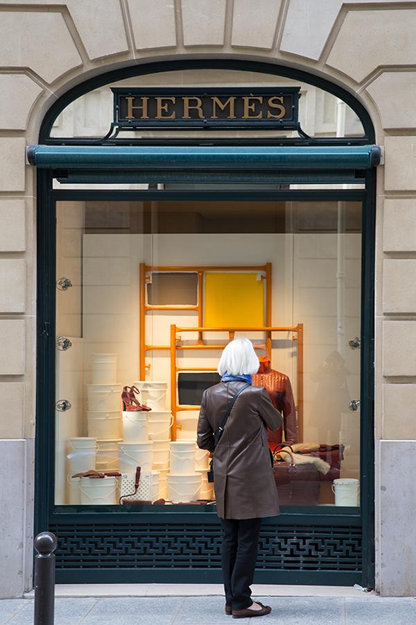 Hermes in Paris