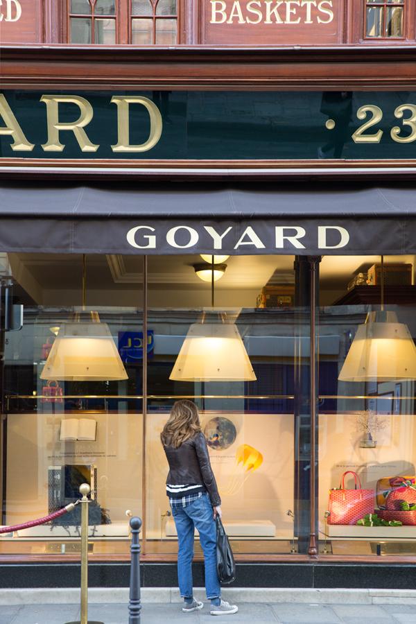 Goyard in Paris