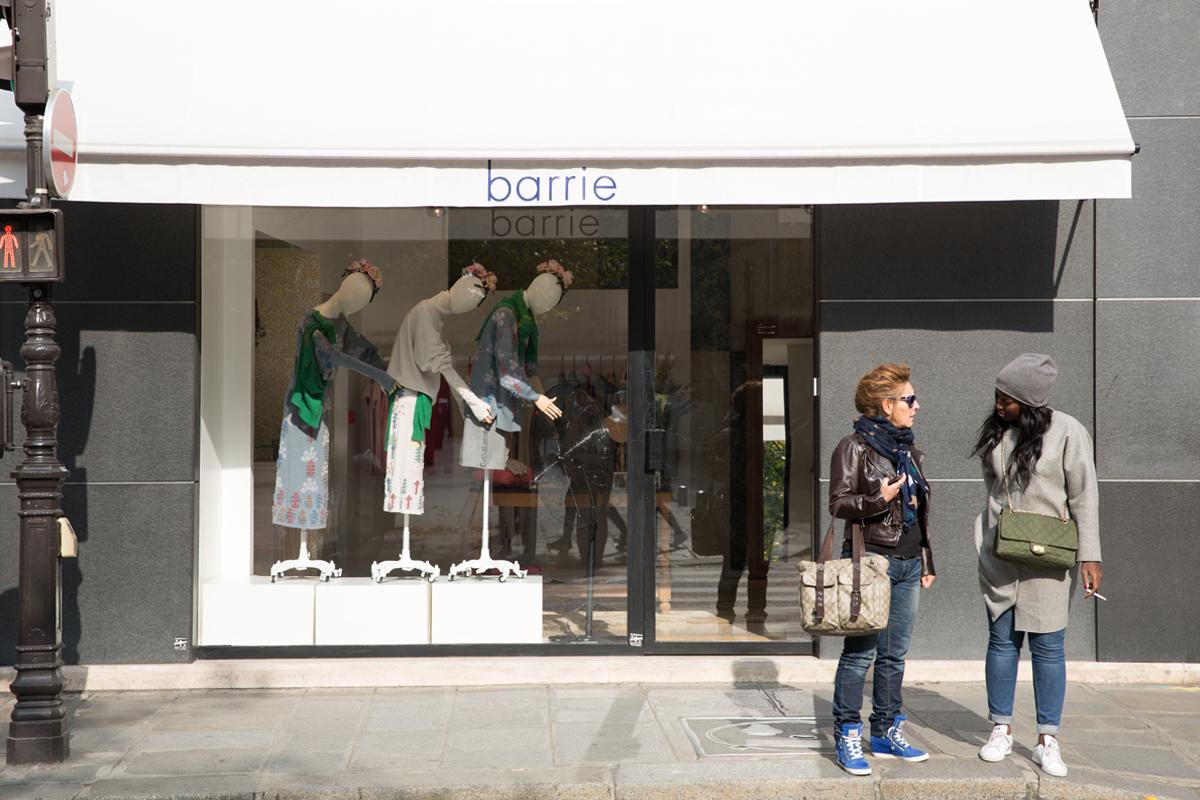 Barrie in Paris