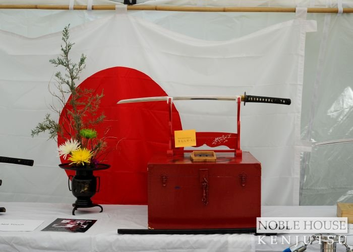 Sword display tent