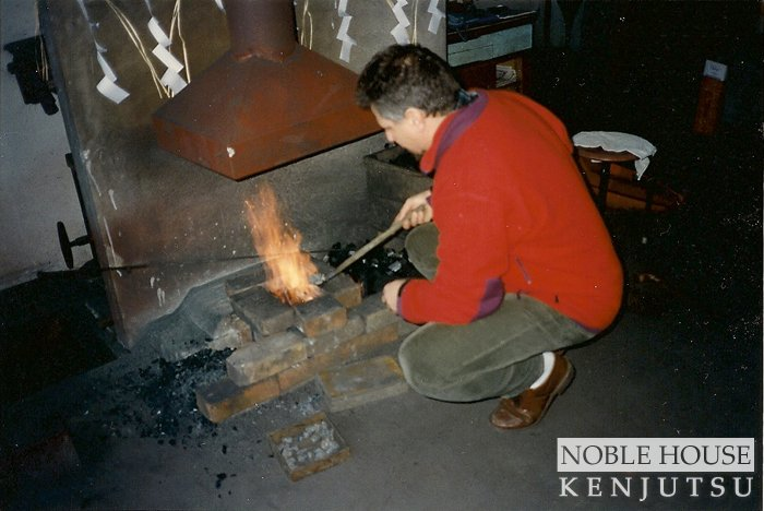 Making steel