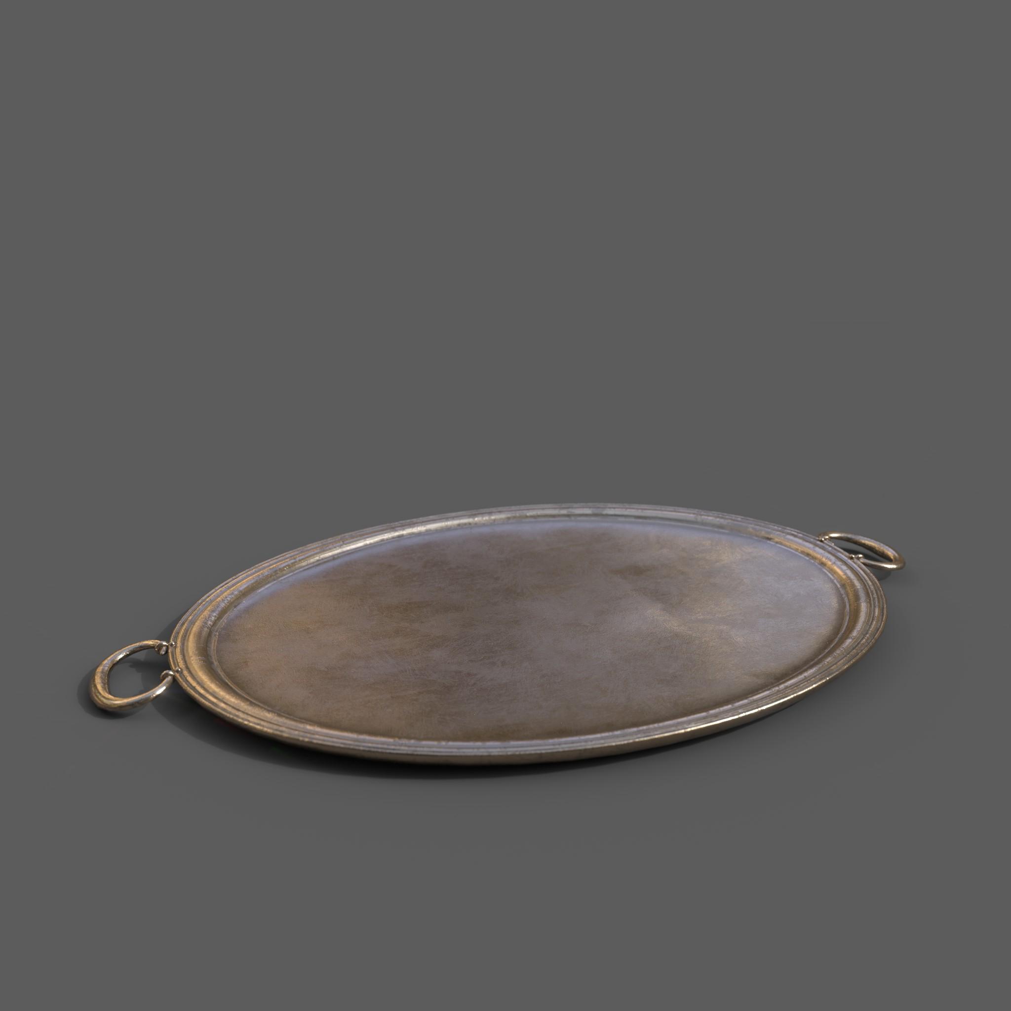 Bronze Platter