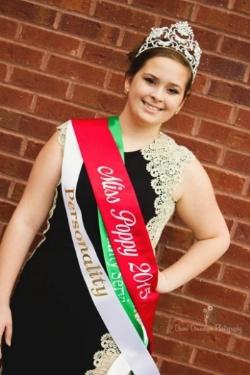 2015 Miss Poppy: Mackenzie Bray