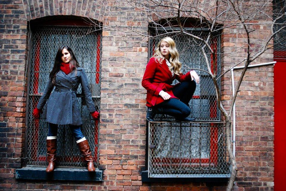 Kaci Nicole - NYE in NYC - Stoop Photoshoot