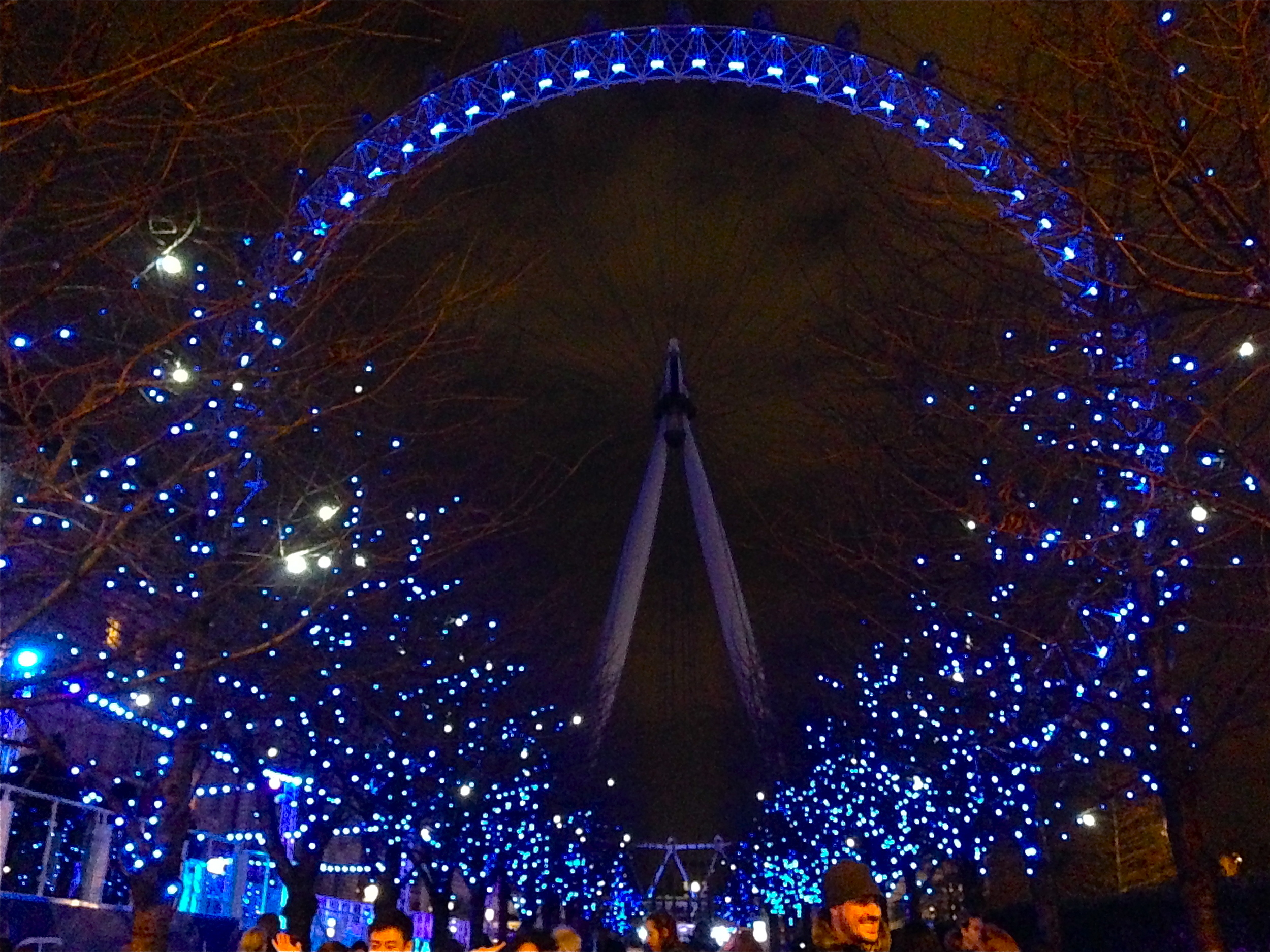 Kaci Nicole - London Eye at Christmastime