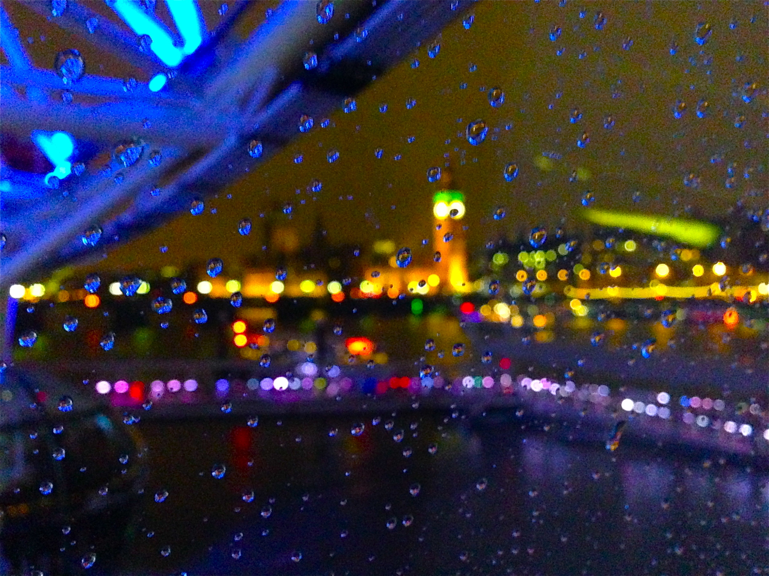 Kaci Nicole - Rainy View from the London Eye