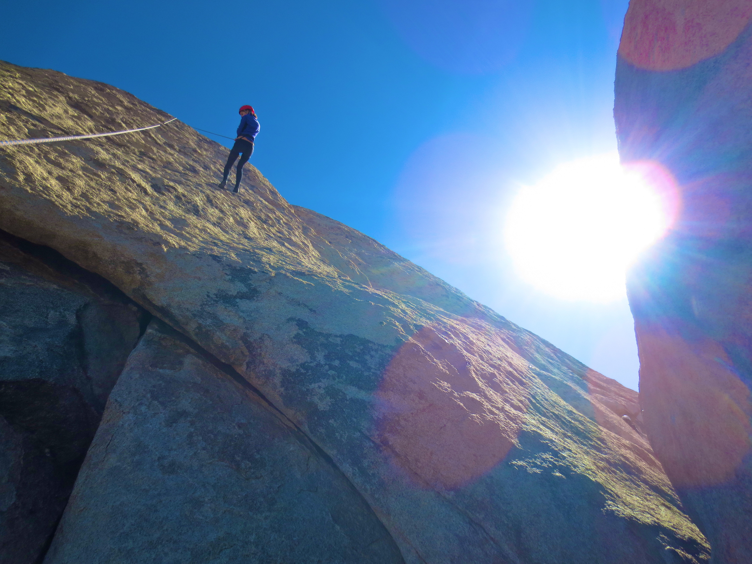 Kaci Nicole - Rock Climbing in Joshua Tree