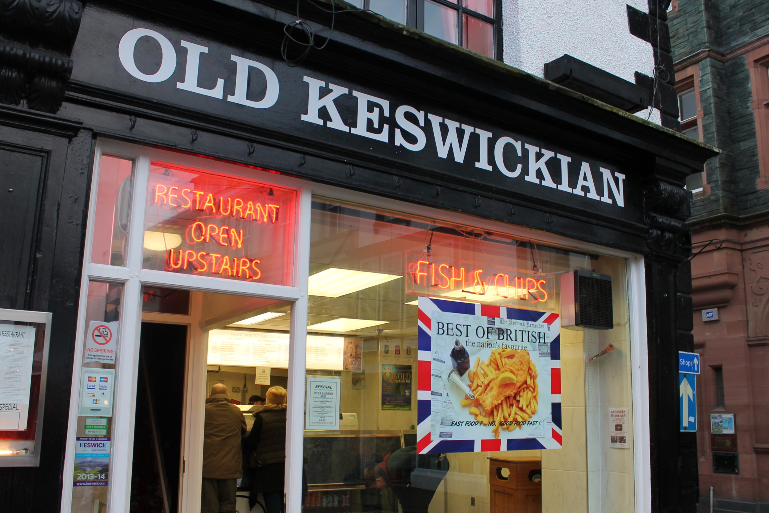 Kaci Nicole - Lake District - Old Keswickian Fish and Chips