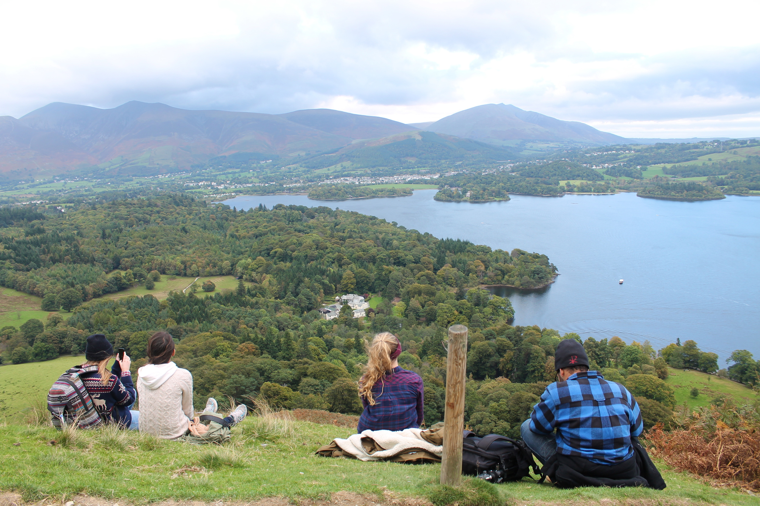 Kaci Nicole - Lake District - Catbells Hike in Keswick