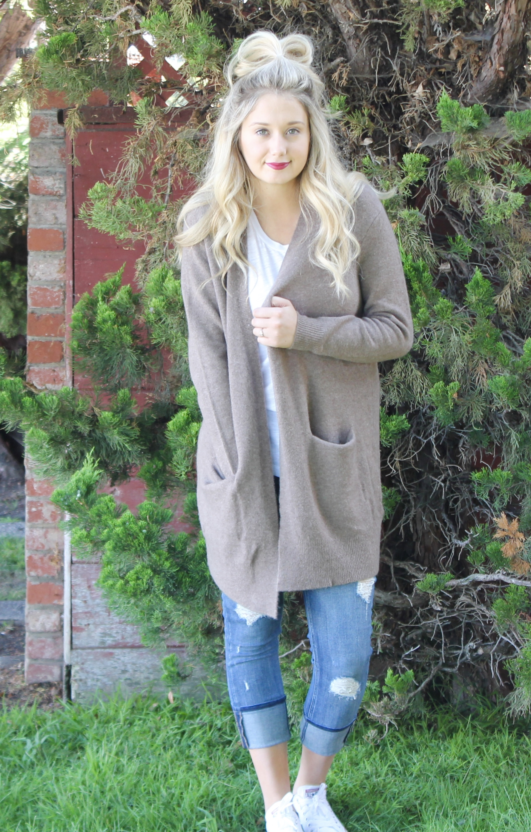 Ryder Cardigan Madewell Fall Fashion Trends | Kaci Nicole