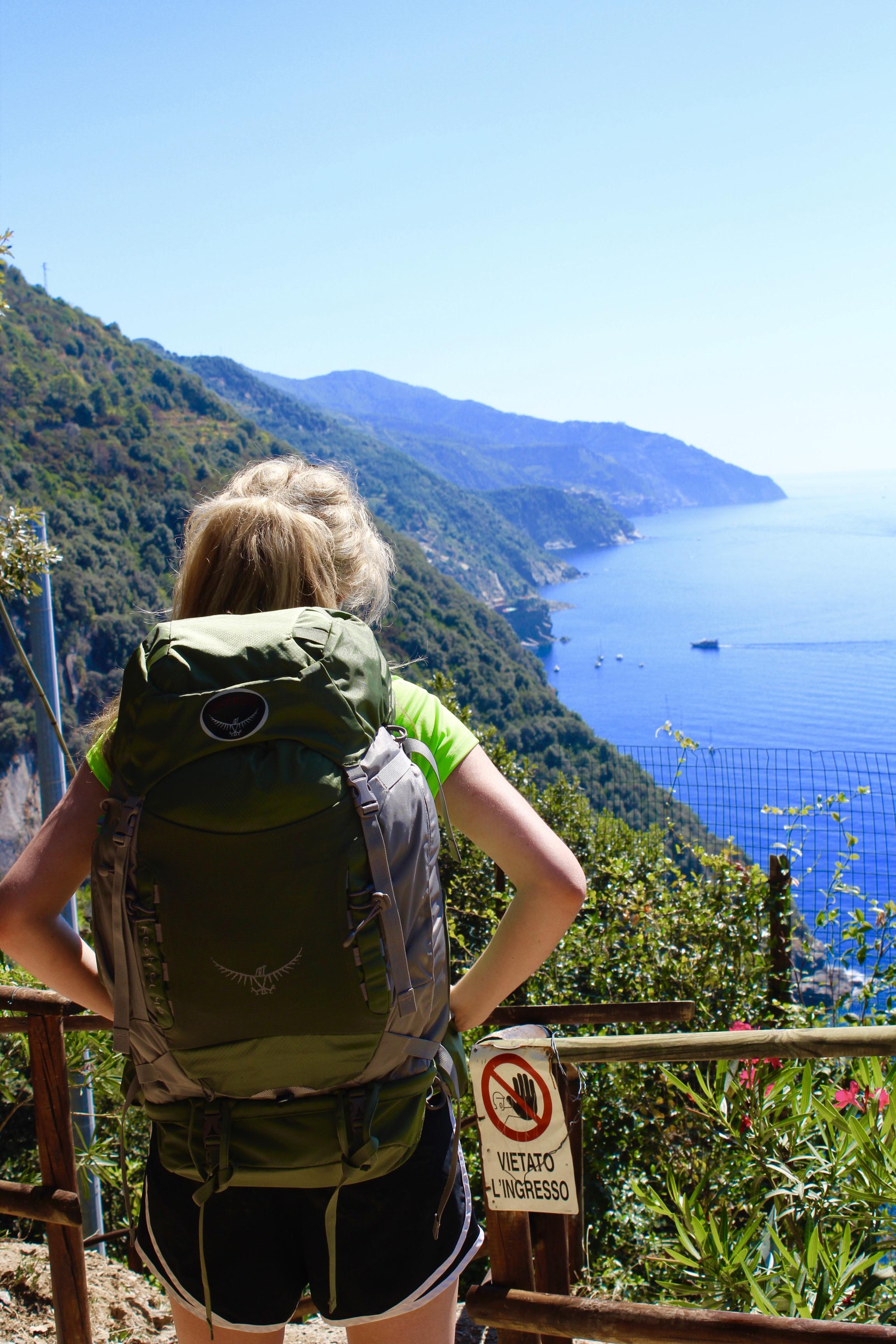 Kaci Nicole - Hiking the Cinque Terre
