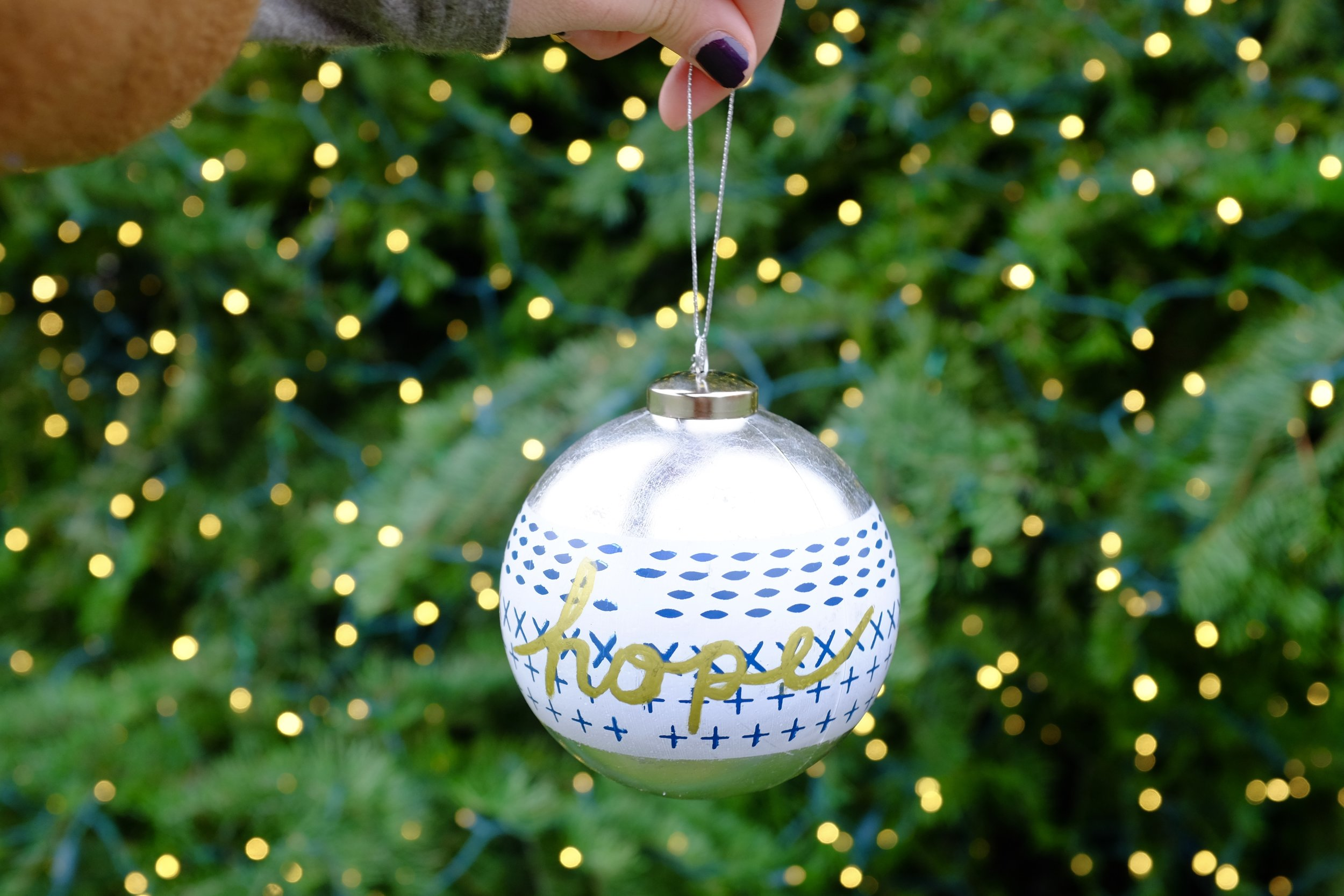 Kaci Nicole - Christmas Hope Ornament - Unmet Desires