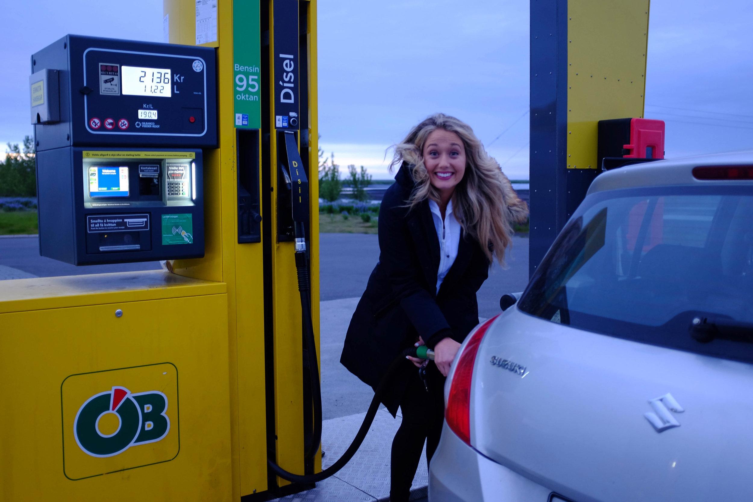 Kaci Nicole - Rental Cars in Iceland