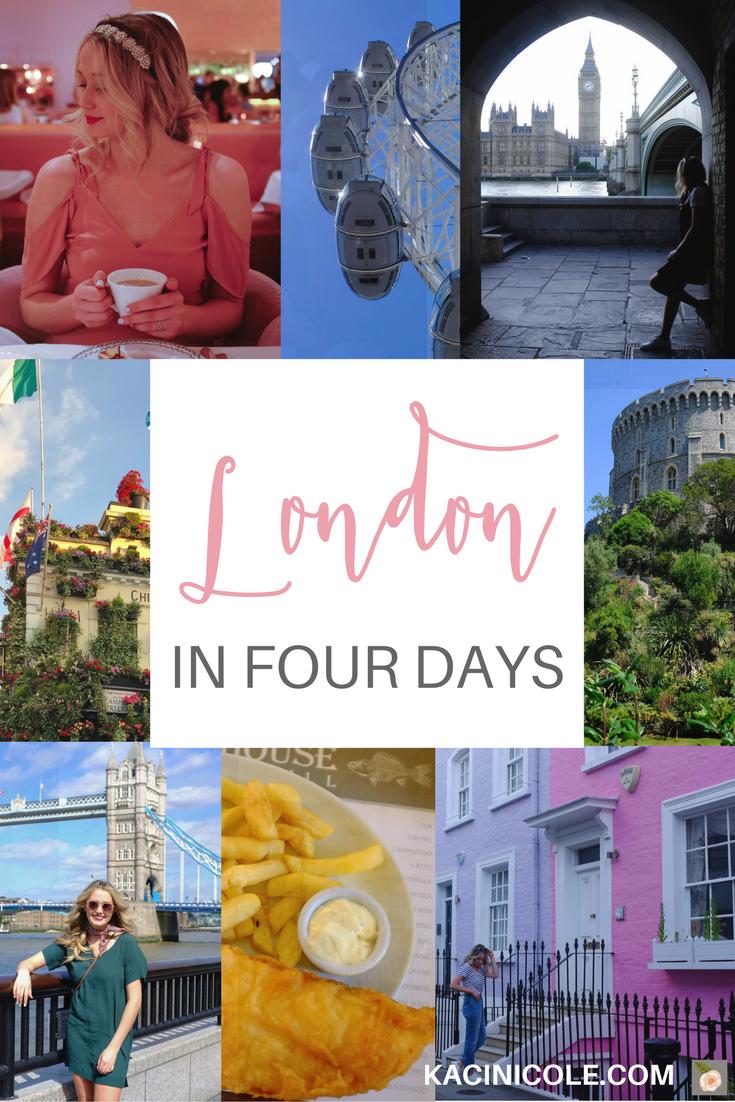 Kaci Nicole - London in Four Days