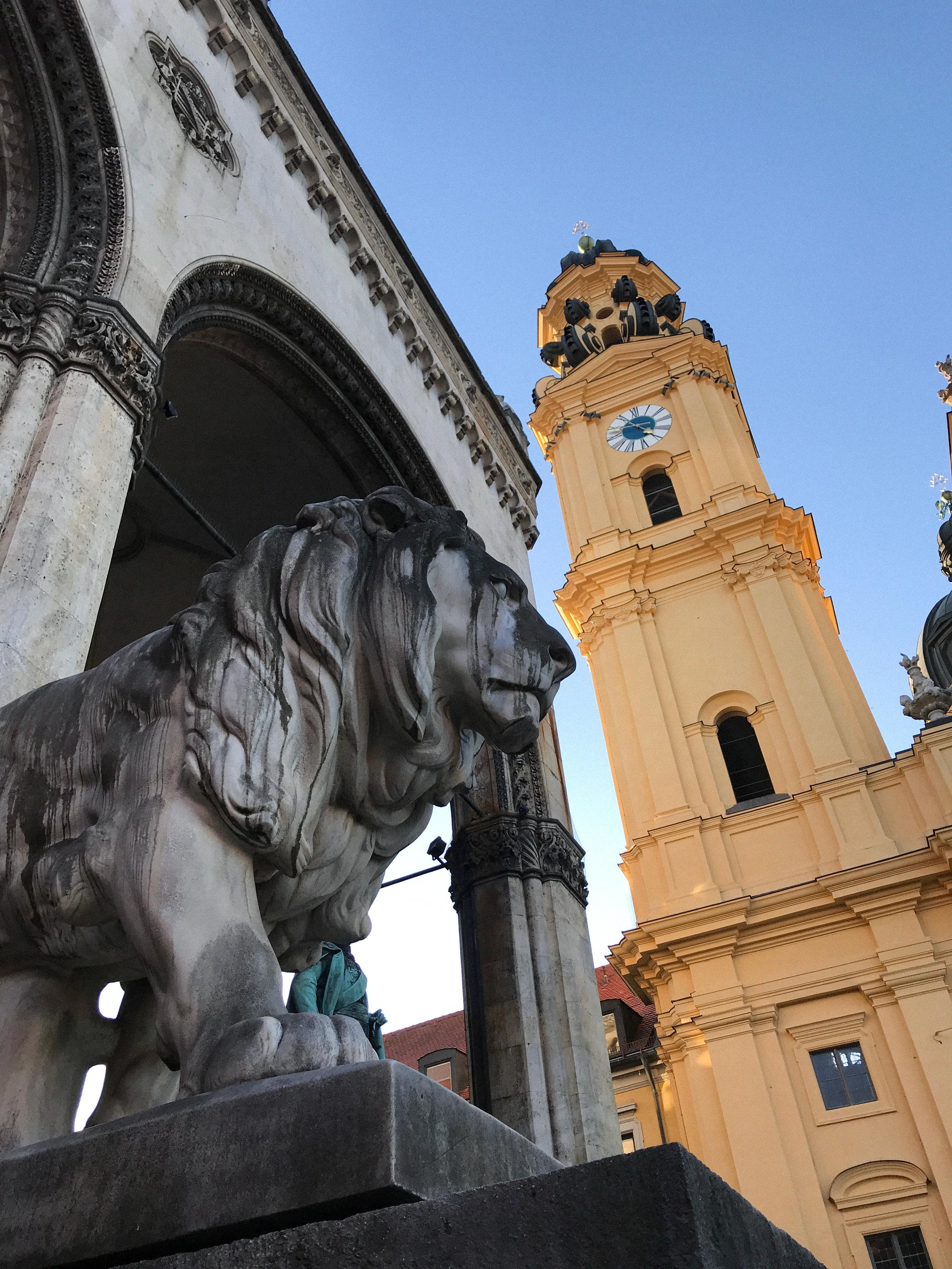 Lion and Theatine Church | Kaci Nicole.jpg
