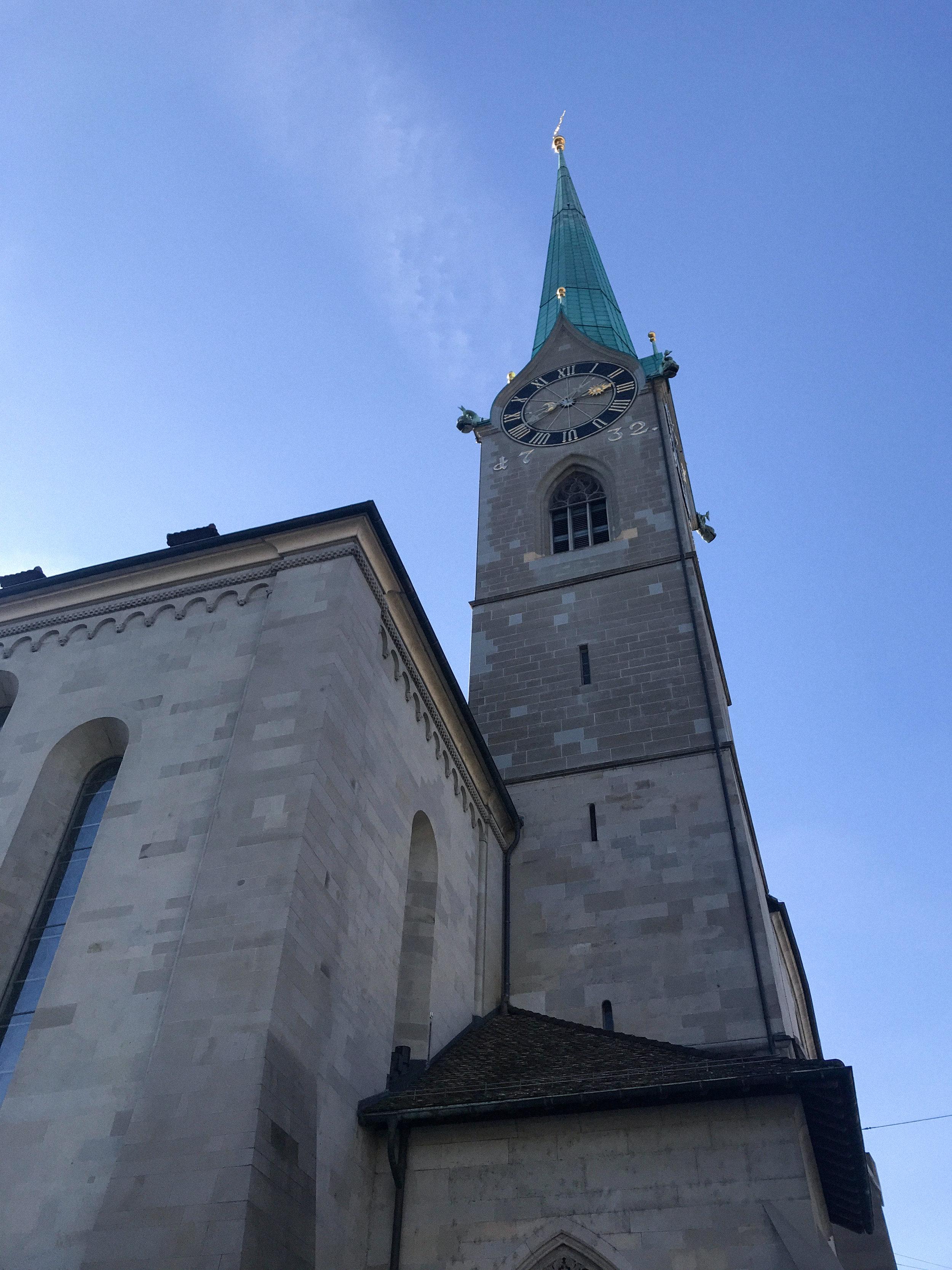 Fraumunster Church Zurich | Kaci Nicole.jpg