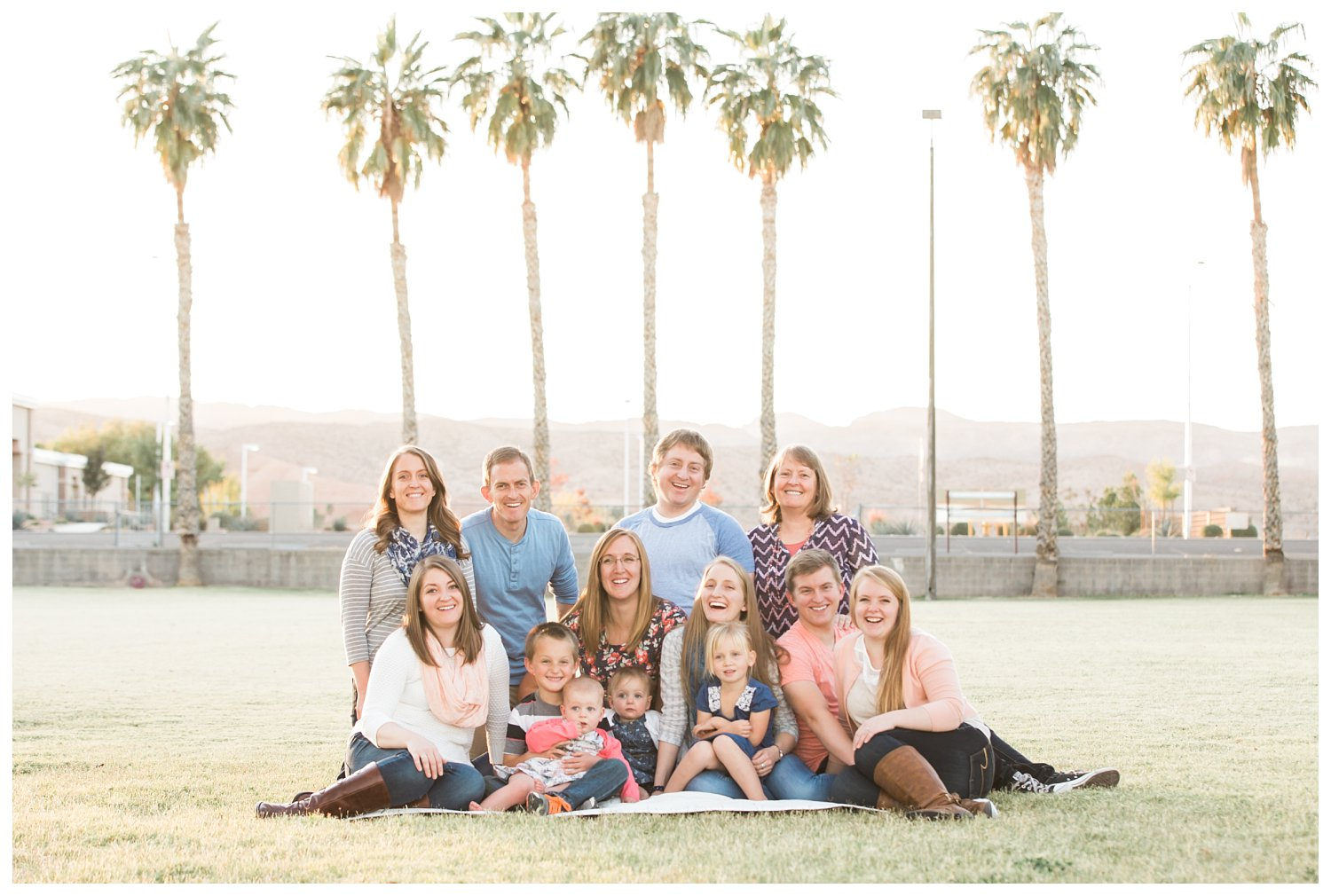 Desert Extended Family Session