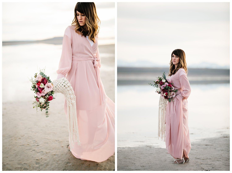 Antelope Island Bridals // Utah Wedding Photographer
