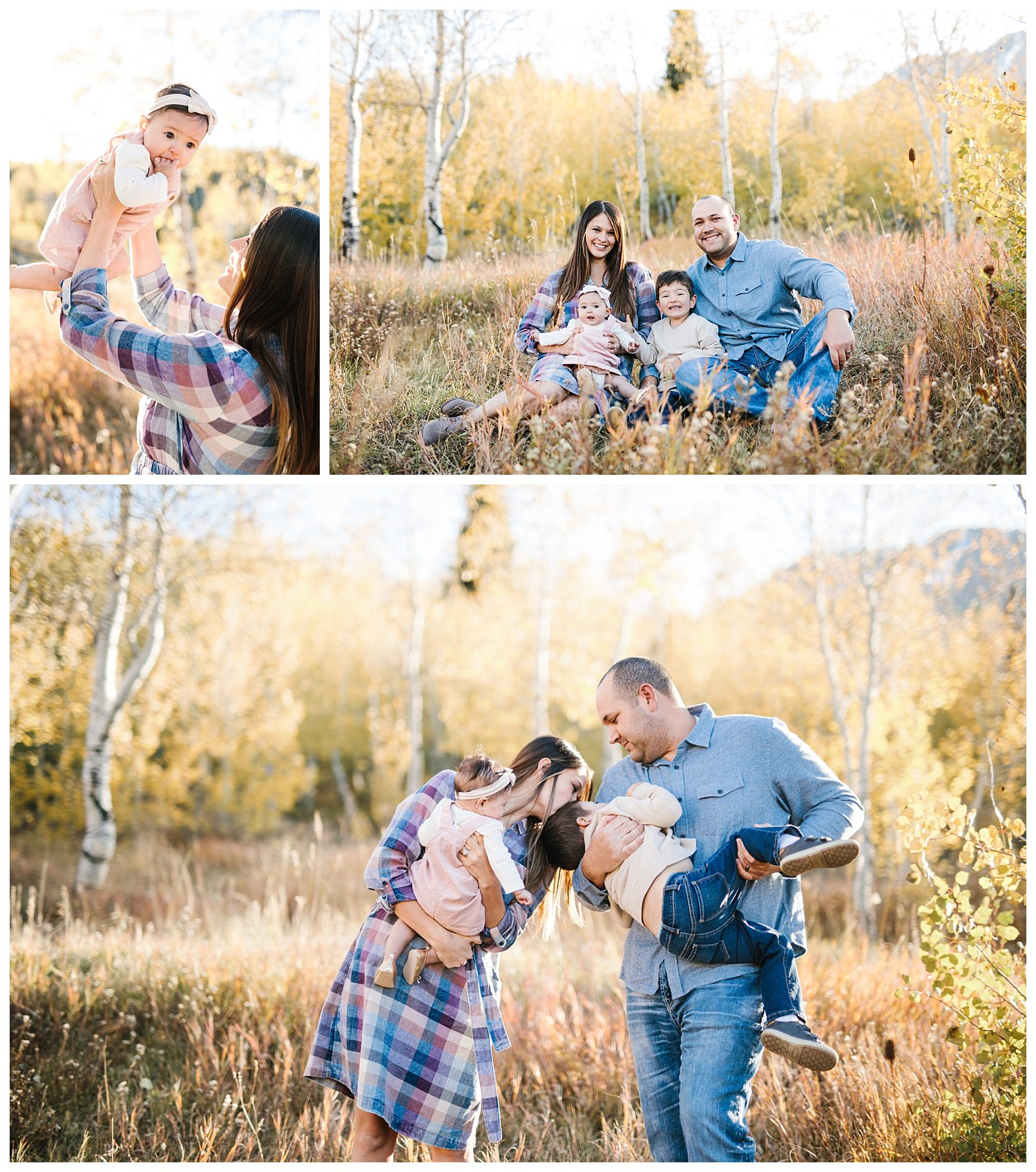Utah Fall Mini Sessions - Antelope Island and Big Cottonwood Canyon