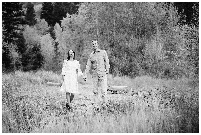 Aspen Grove Utah Fall Engagement Session