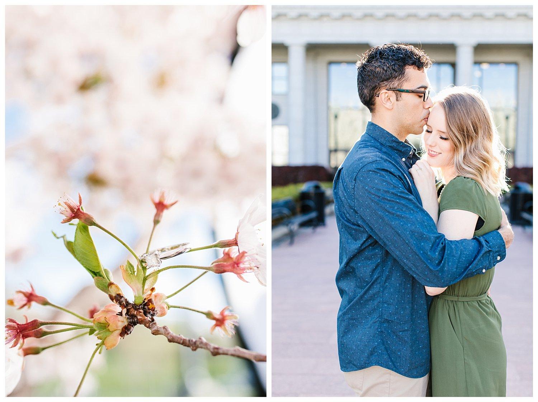 Spring Blossoms Engagement Session | Utah Wedding Photographer | Rachel Lindsey Photography