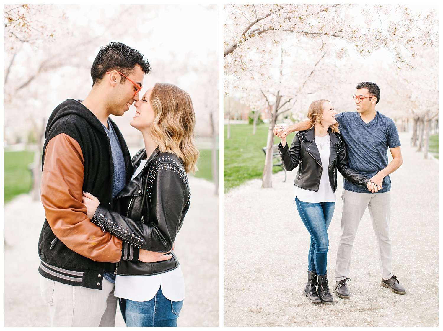 Spring Blossoms Engagement Session 3