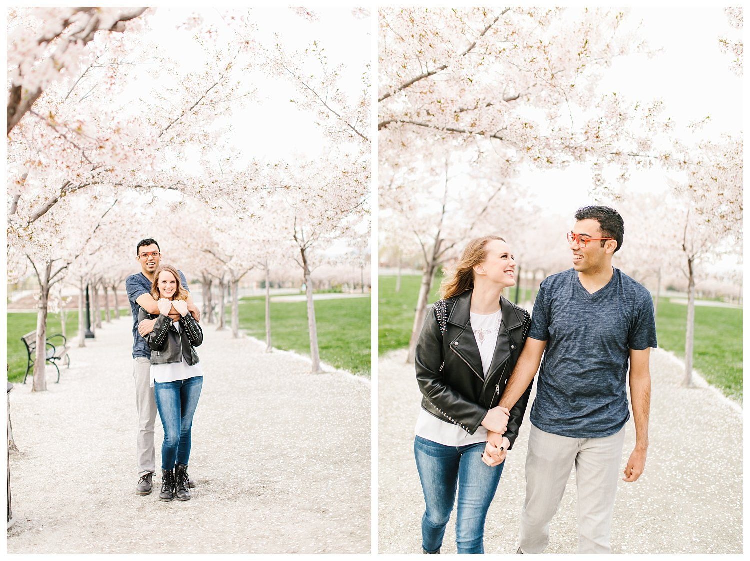 Spring Blossoms Engagement Session 4